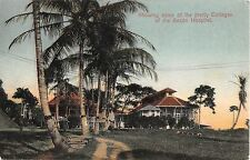 Panama postcard Showing some of the pretty Cottages of the Ancon Hospital