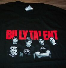 BILLY TALENT Band T-Shirt LARGE NEW METAL