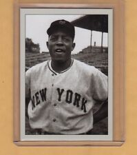 Willie Mays '51 New York Giants signature photo card Plutograph serial # /200