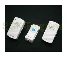 Twin Wireless Cordless Plug In Doorbell Chime 29 Ringtone 100M Mains Bell R60