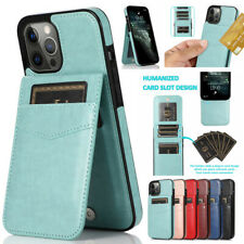 Leather Flip Wallet Card Holder Case Cover For 8 7Plus iPhone 12 Pro Max 11 XR
