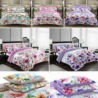 New Luxury Plush Velvet Duvet Quilt Cover With Pillowcases Bedding Set All Sizes