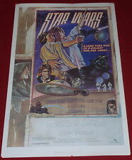 Star Wars Drew Struzan Poster 22 x 34 NEW Episode IV 1978 Lucas  1982 authorized