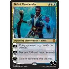 *FOIL* TEFERI TIMEBENDER NM mtg Dominaria Gold - Planeswalker Mythic