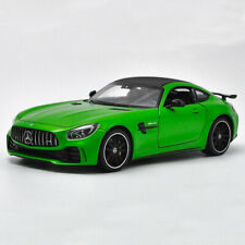 AMG GT R Sports Car 1:24 Model Car Diecast Collectible Gift Boys Green