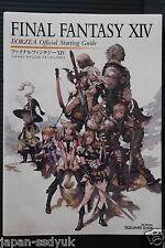 JAPAN Final Fantasy XIV Eorzea Official Starting Guide