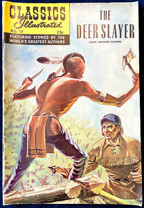Classics Illustrated No. 17 - The Deerslayer, 1968, Fine Condition.