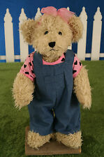Uncle Beans Bears 'Tabitha' Handmade, Jointed Legs. 42cms. BRAND NEW.