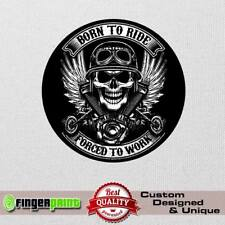 BORN TO RIDE sticker decal 4x4 off road honda africa twin jeep offroad bmw cdi