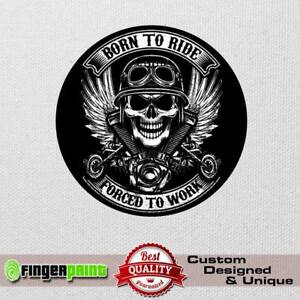 BORN TO RIDE sticker decal 4x4 off road honda africa twin offroad bmw cdi