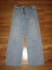 NEXT Wide Leg Mid Rise Jeans Size 14 Regular Leg 31 With Tags