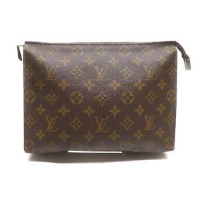Vintage Louis Vuitton LV Cosmetic Pouch Bag Poche Toilette 26 M47542 2402020