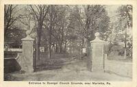 Harrisburg Pennsylvania~Smoke Stacks & Belffies~Bird's Eye View~1908 Postcard