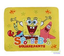 "Cute SpongeBob SquarePants Supersoft School Sleeping Blanket Throw Cover 59""x47"""