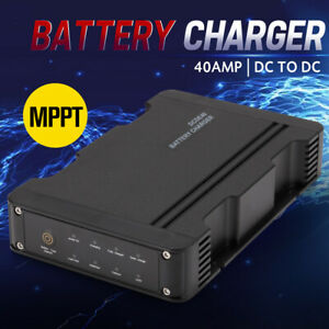 MOBI 40A DC to DC Battery Charger MPPT 12V Dual Battery System 4WD Lithium