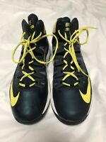 Nike Air Max Stutter Step Shoes Sz 11 BLACK AND YELLOW