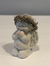 "Vintage 1994 Dreamsicles Cast Art 3"" Praying Angel Cherub Figurine No box"
