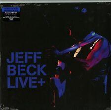 JEFF BECK LIVE+ DOPPIO LP 180 GRAMMI NUOVO E SIGILLATO !!