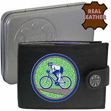 Ciclista Bicicleta De Carrera De Carretera klassek Cuero Billetera Accesorio de ciclismo Presente Regalo Estaño