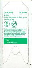Cardinal Health 2D7028PF Triflex Sterile Latex Gloves-Small 40 Pairs/Box