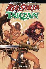 RED SONJA / TARZAN TPB Dynamite Comics Fantasy TP