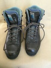 Tecnica Trekking Boots Brown Leather Men's Size 12