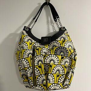EUC Petunia Pickle Bottom Glazed Hideaway Hobo Diaper Bag in Venturing in Venna