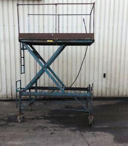 Adjustable Hydraulic Working Platform