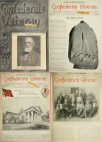480 RARE ISSUES Of CONFEDERATE VETERAN MAGAZINE(1893-1932) AMERICA CIVIL WAR DVD
