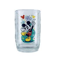 Disney World Magic Kingdom Mickey Mouse 2000 Glass Collection Square