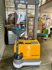 More details for jungheinrich ejc m13 pallet stacker electric forklift nearly new 12 hours mint