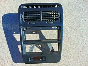 90-96 Nissan 300ZX Center Dash Stereo Trim Bezel w/ Vents & Tested Clock