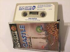 Il CASTELLO Originale Sinclair Zx Spectrum 48K cassette gioco da Bug BYTE