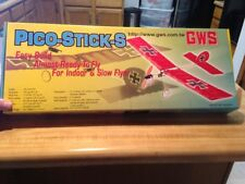 New R/C GWS Pico Stick S ARF  - Indoor - Outdoor - Slow Flyer With Motor