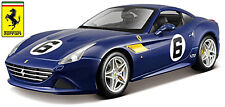 Ferrari California T #6 Blu 70th Anniversario Collection1 18 Bburago