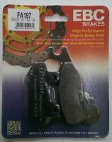Honda CB125F (GLR125) (2015 to 2016) EBC Organic FRONT Brake Pads (FA197) 1 Set