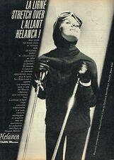 A- Publicité Advertising 1961 Les Vetements de ski Helanca