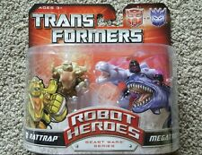 Transformers Universe- Robot Heroes -Beast Wars Series Rattrap & Megatron