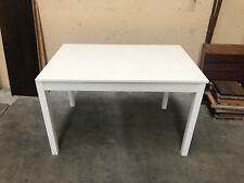 Tavolo Bianco  allungabile 80x120/160 altezza 75 Nuovo