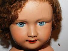 52cm ANCIEN vintage POUPEE old DOLL alt puppe bébé BABY en carton platre ?