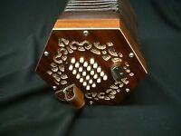 BASTARI English concertina A-48 Tenor