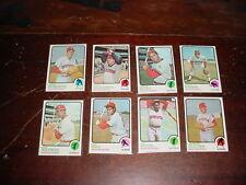 Houston Astros 1973 Topps Baseball 23 cards Cesar Cedeno Don Wilson Jim Wynn