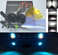LED Kit X3 50W 9006 HB4 8000K Icy Blue Two Bulbs Fog Light Replace Plug Play Lam