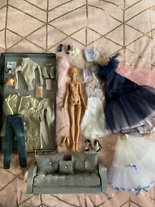 1/4 resin bjd Popovy little owl in tan with huge lot