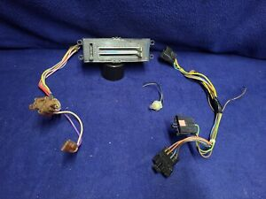 1978-88 Monte Carlo Cutlass Climate Control Switch w/ Wiring Harness 7895785-5