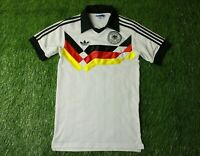 GERMANY NATIONAL TEAM 1988-1990 FOOTBALL SHIRT JERSEY HOME ADIDAS RETRO REPLICA
