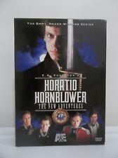HORATIO HORNBLOWER THE NEW ADVENTURES DVD A&E 2002 2-DISC BOX SET LOYALTY DUTY