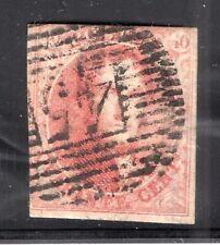 BELGIUM BELGIQUE 1849 Epaulettes #5 USED BOXED WMK