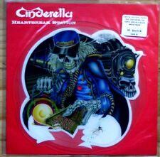 EX/EX! Cinderella Heartbreak Station Shaped Vinyl Picture Pic Disc