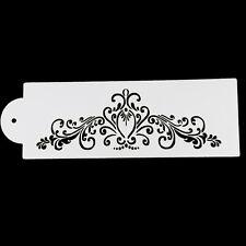 Baking Kitchen Accessories Flower Fondant Decorating Tools Cake Stencil  Mold HU